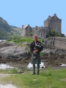 Scottish Bagpipe player 5