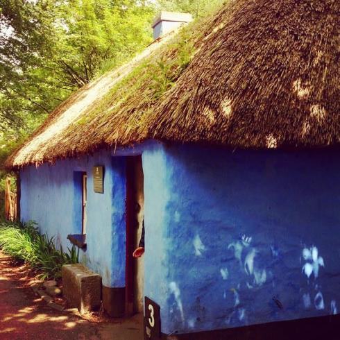 Ireland - blue cottage