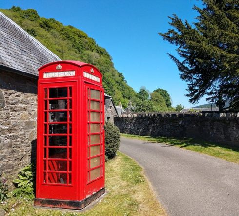 Scot - Phone booth