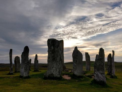 Scot - Uig sunset stones