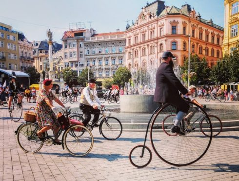 Czechia - Brno bicycles