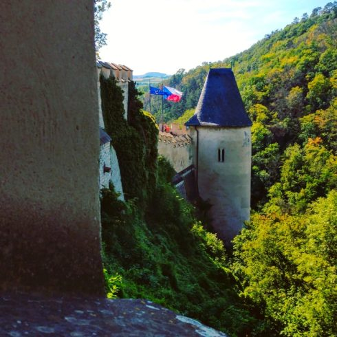 Czechia - Karlstejn Castle tower