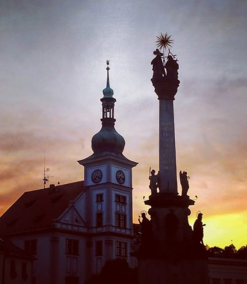 Czechia - Loket sunset