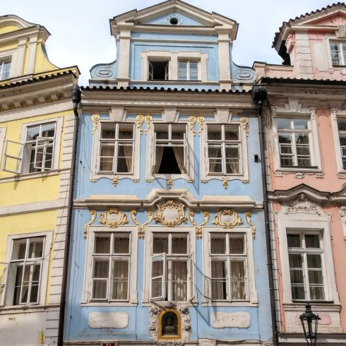 Czechia - Prague houses