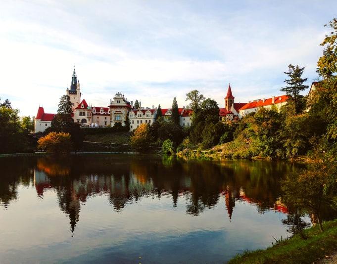 Czechia - Průhonice Castle