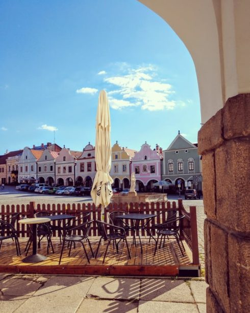 Czechia - Telc cafe